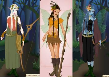 Wood elf dress up game by Pichichama