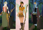Wood elf dress up game