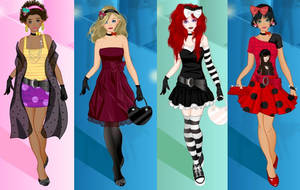 Party time dress up game by Pichichama