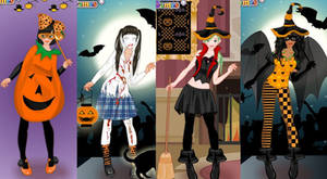Halloween Party dress up game by Pichichama