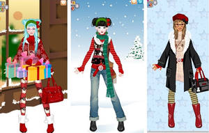 Cozy christmas dress up game by Pichichama
