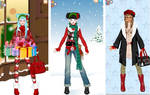Cozy christmas dress up game
