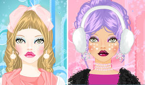 Icy Winter Make over game by Pichichama