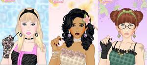 Spring make-up game