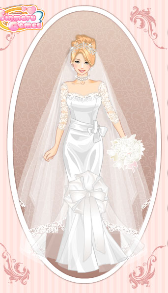 Create your own wedding dress games online