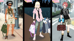 Tomboy dress up game