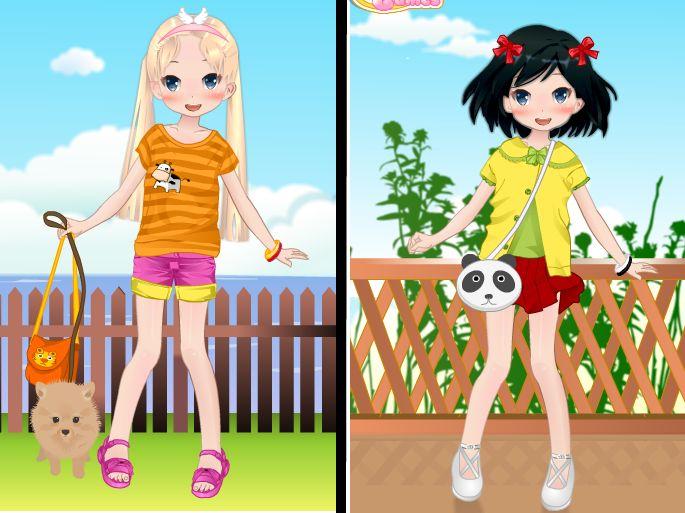 Summer Girl Dress Up