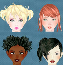 Avatar portrait creator game by Pichichama
