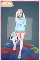 Pastel goth dress up game by Pichichama