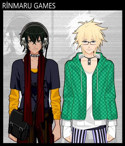 Anime Boys Dress Up Game By Pichichama On Deviantart