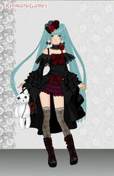 Anime gothic girl dress up game by Pichichama