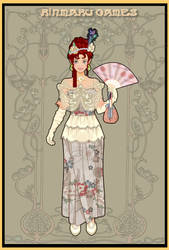 Belle epoque costume creator by Pichichama