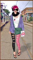 Street style dress up game by Pichichama