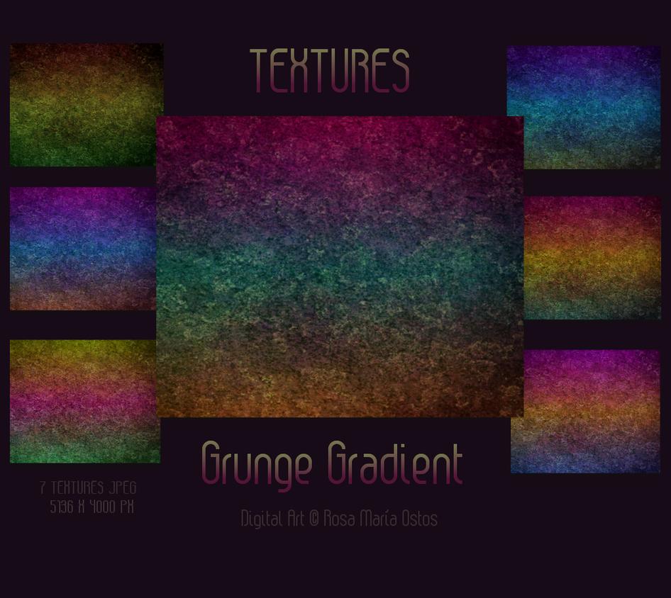 Pack Textures - Grunge Gradient by ROSASINMAS