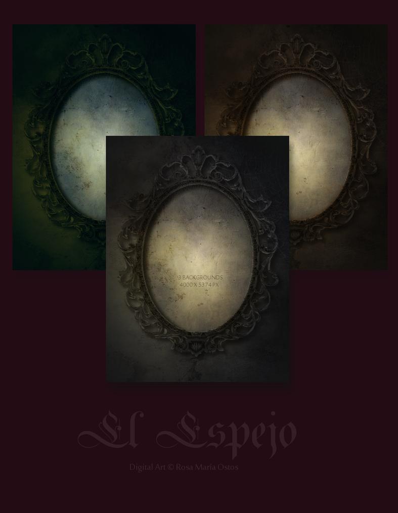 Backgrounds - El Espejo by ROSASINMAS