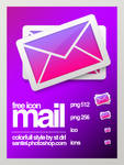 Colorfull mail icon