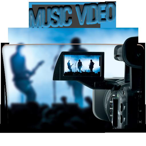 Music Video fold....ico Files Music