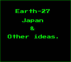 Earth 27 Japan n Other ideas
