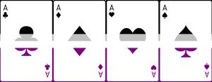 Ace Deck 10: Flag Border Horizontal