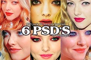 Nr. 6 Amanda Seyfried 6 psd's by BellaFantasia