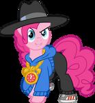 Pinkie rapper by Elsia-pony