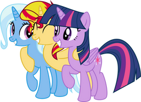 Best friends by Elsia-pony