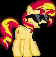 Got swag: Sunset Shimmer by Elsia-pony