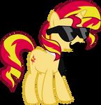Got swag: Sunset Shimmer