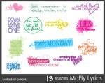 McFly Brushes 2