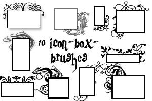 10 PS7 icon-box-brushes by customer-mimi