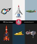 iPhone HD : Polygon Thunderbirds IR Wall Pack