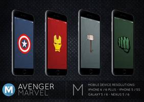 MOBILE : Avenger Marvel Wallpaper Pack by polygn