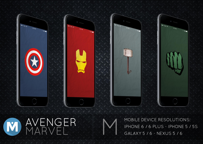 MOBILE : Avenger Marvel Wallpaper Pack By Polygn On DeviantArt
