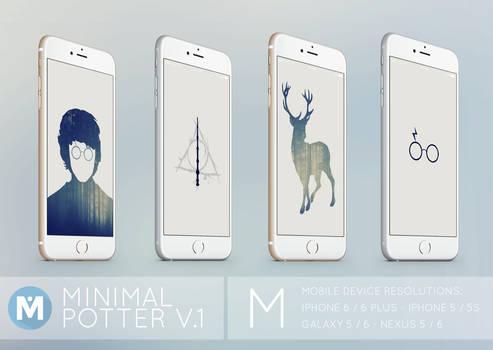 MOBILE : Minimal Potter 1 Wallpaper Set