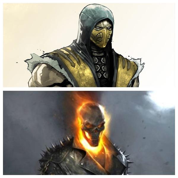 Scorpion vs Ghost Rider Round 2 by FlareEmerald77 on ...