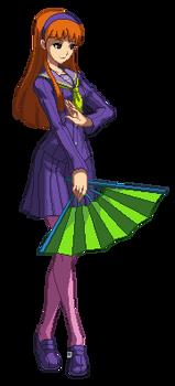 Yukiko Amagi as Daphne Blake (Sprite Animation)