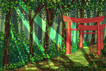 Shrine Pixel