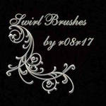 swirl brushes by r08r17