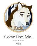 [DotW] Come Find Me...   Kaia