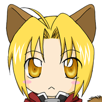 Edward Elric Cat by CharlieNinjaOfAwsome