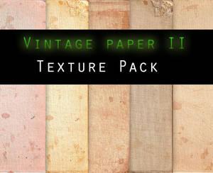 Vintage Paper II TEXTURE PACK