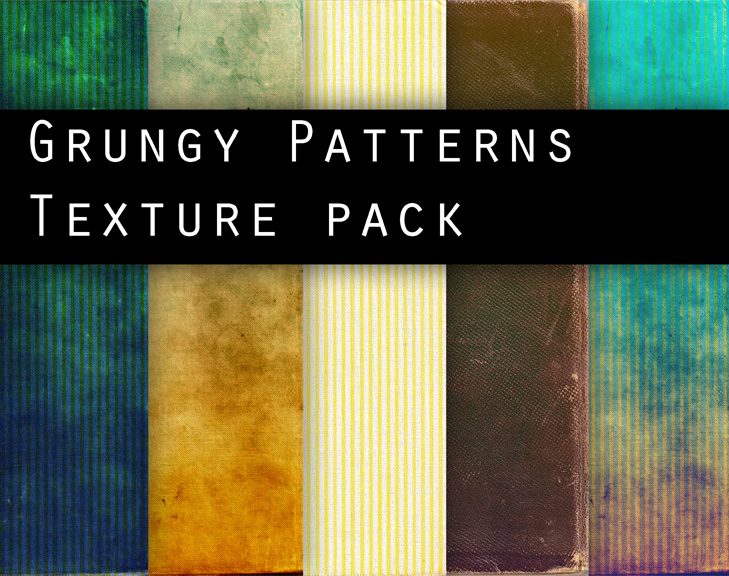 GRUNGY PATTERNS texture pack