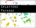 Splatters PACKAGE