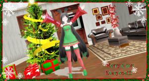 Merry x-mas everyone!!!-----MMD Art contest
