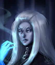 True ice queen by LotusLumino