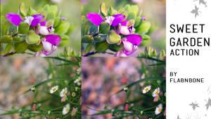 Sweet Garden Photoshop Action