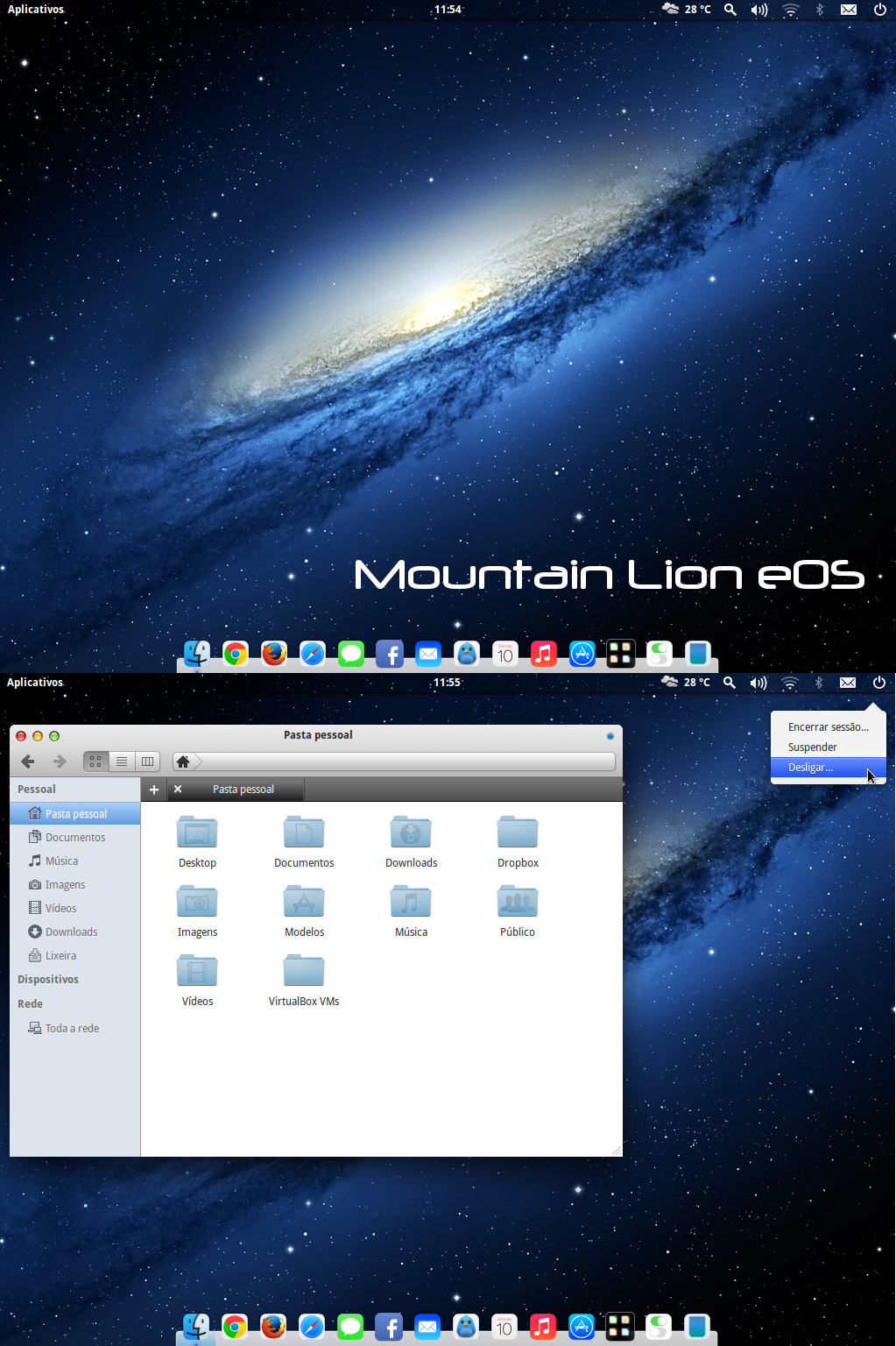 Mountain Lion eOS theme by wendellbarroso