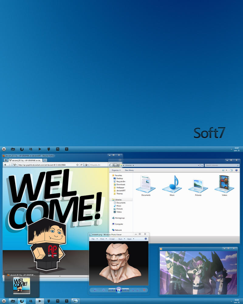 Soft7 1.7 for Windows 7 by ap-graphik