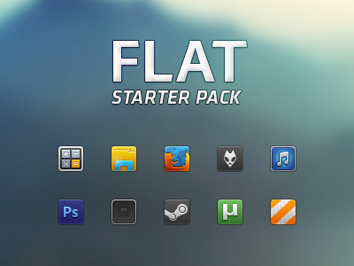 Flat - Starter Pack by ap-graphik