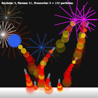 Fireworks by JohnJensen